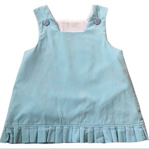 3/$15 LOLLY WOLLY DOODLE BLUE CORDUROY JUMPER SIZE 3T